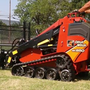 Mini Skid Steer Attachment and its application