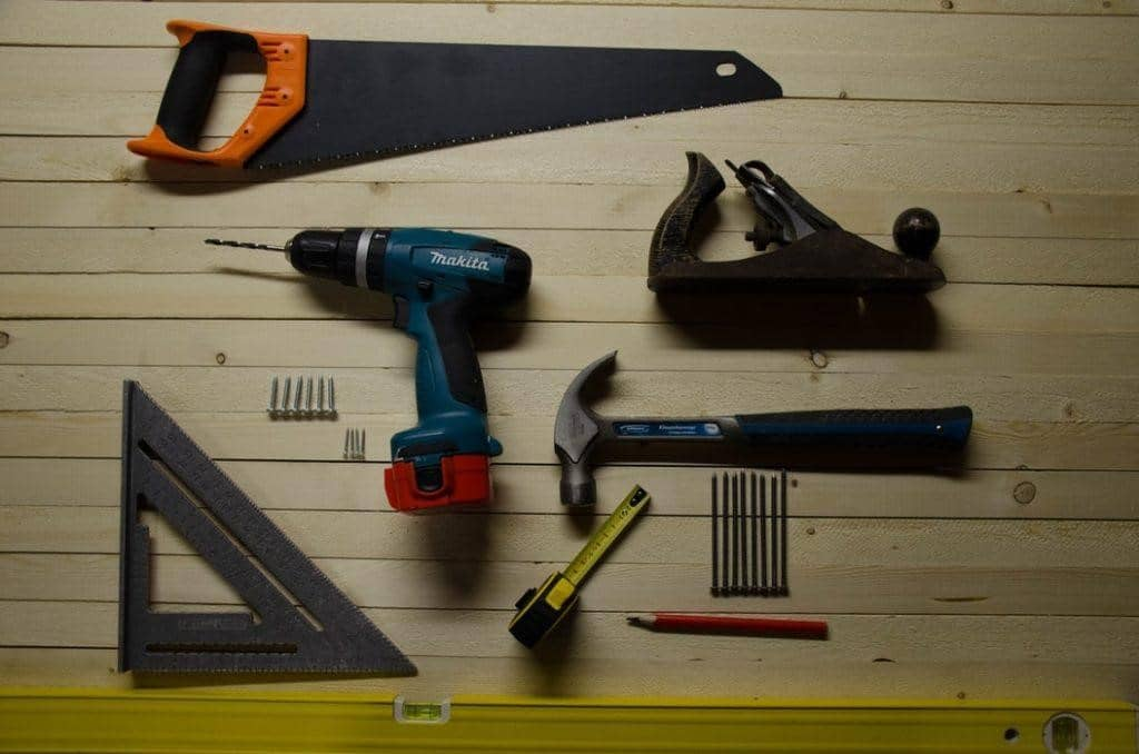 Assorted tools you'll need to prevent injury while renovating your home