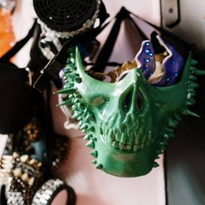 How To Hang Masks On Wall For Masquerade Housewarming Party
