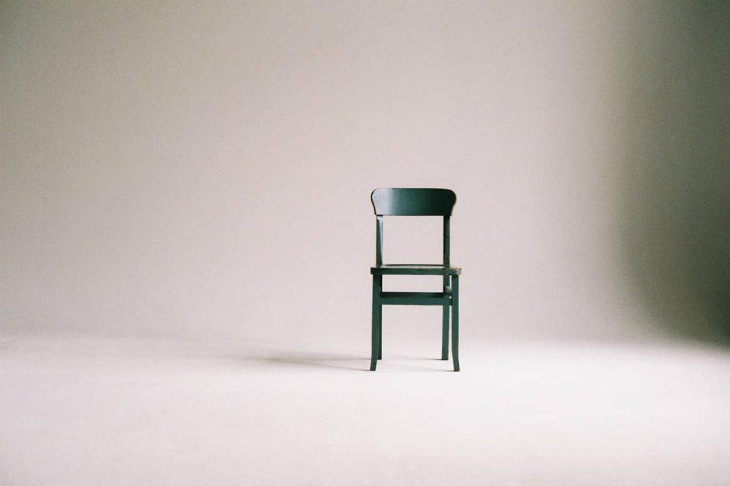 minimalist decor chair