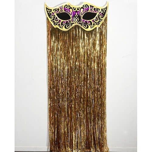 Mystique Mask Gold curtain