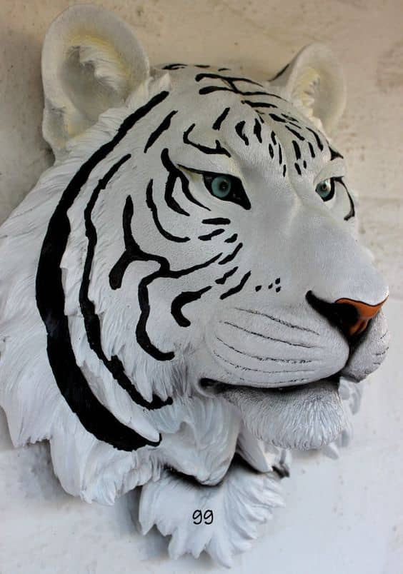 tiger wall mask