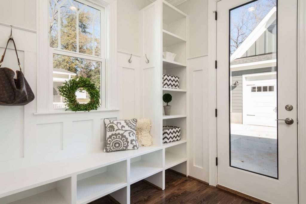 entrance storage options