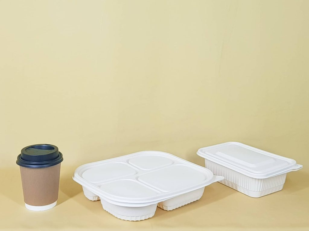 plastic disposable boxes and cup