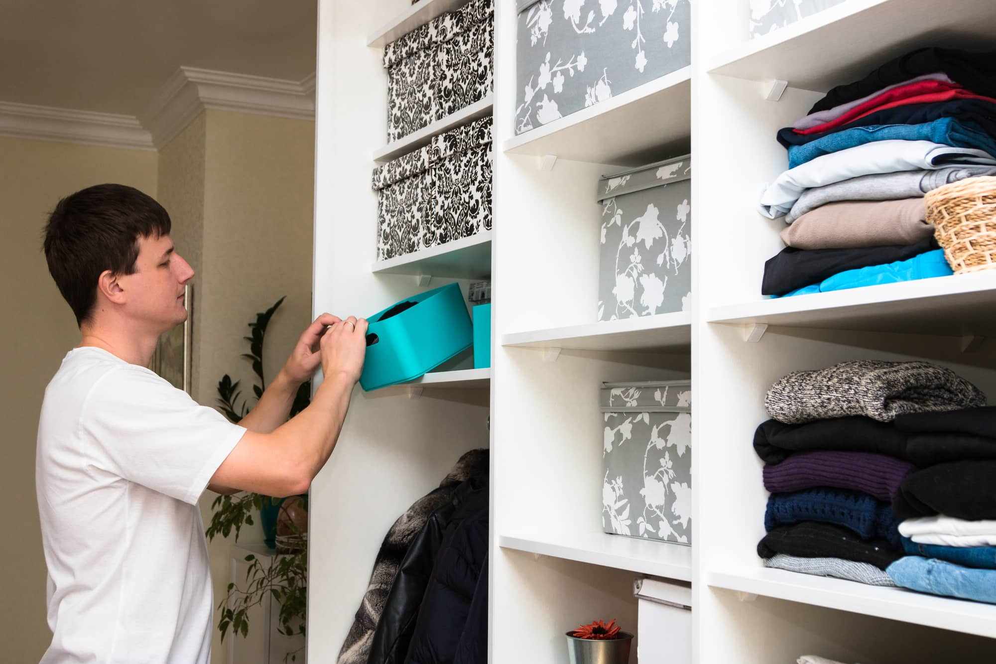 Make Room: 4 Easy Home Storage Ideas